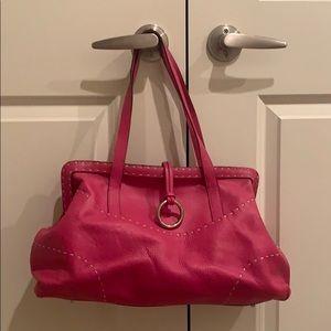 BCBG Maxazria pink leather bag